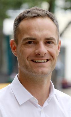 Bürgermeister Frederik Brütting aus Heubach