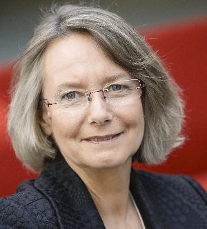 Die Vizepräsidentin des Europäischen Parlaments: Evelyne Gebhardt MdEP