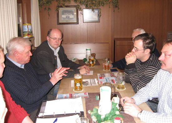 Die Teilnehmer des Medienseminars in Untergröningen